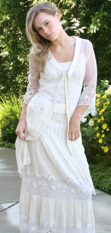 Cl 3501 raspberryberet nataya dresses vintage inspired for Antique inspired wedding dresses